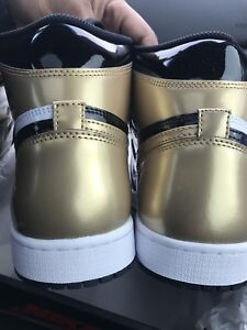 Jordan 1 Gold Toe Size 10 DS 350