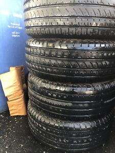 205/55R16 four all season tiers with rims