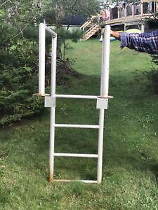 Ladder for float or dock