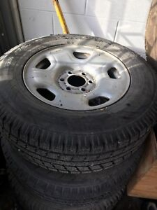 Ford F-150 6 bolt 17 inch  wheels and tires west kelowna