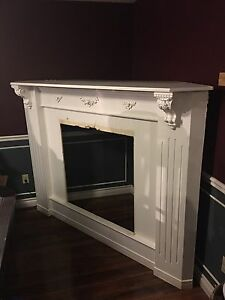 Fire place mantel $25