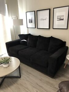 Black Couch - Perfect Condition