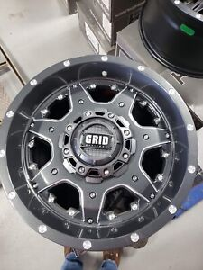 """GRID 17"""" Inch Chevy/Ford Rims NEW"""