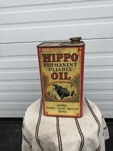 Vintage Oil Can