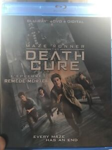 Maze Runner:Death Cure blue ray
