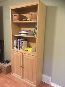 Maple bookcase