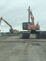Need an Excavator that floats?