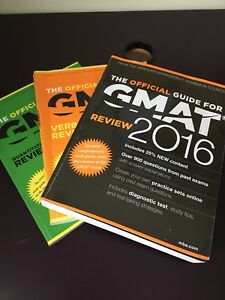 2016 GMAT books