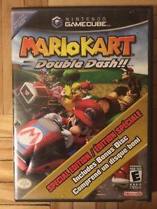 Mario kart double dash with bonus disc