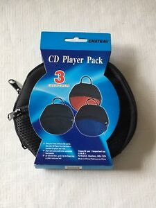 Portable CD player carrying case