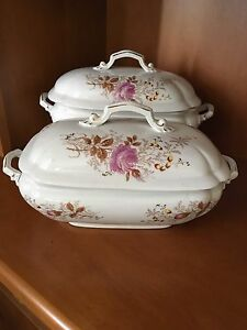 Carlsbad AK serving dish and Soup Tureen