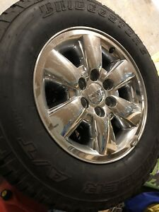 GMC Factory Rims and Rubber
