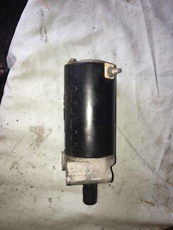 Starter motor off a 23hp Kohler engine.