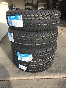 195/65/15 BRAND new duration 30 studdable winter tires $380 !