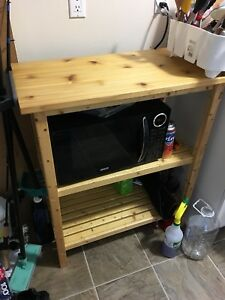 DIY Wooden side table