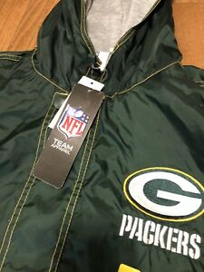 Green Bay packers jacket. Size small new