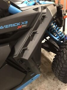 Canam x3 super extended front fender flares