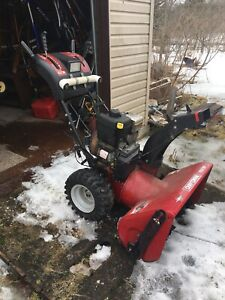2004 Model year Snowblower
