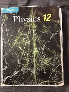 PHYSICS 12 textbook 8.5/10 condition  prices negotiable