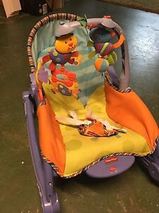 Baby rocker, chair and booster seat