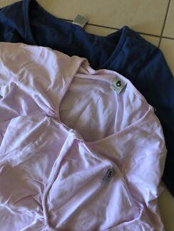 3 x Bub2b maternity shirts size small