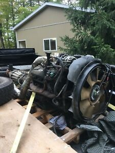 6.0L Powerstroke Motor and Transmission