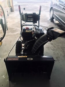 Snow blower for sale.