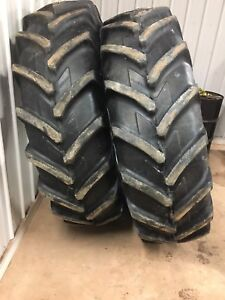 Radial tractor tires