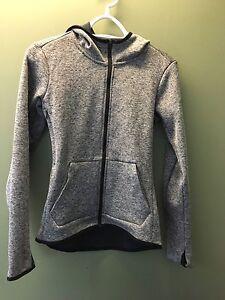 Nike women's XS hooded, zip, sweater