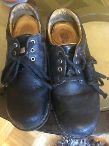 Dakota steel toe shoes size 10