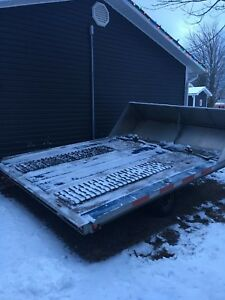 2005 Galvanized 10 ft snowmobile trailer