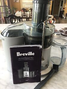 Breville JE98XL Juice Fountain Plus Juicer