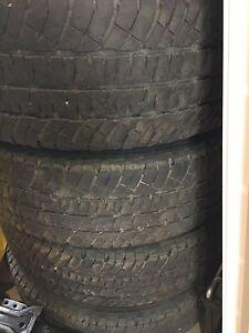 LT 265 70 18 Michelin LTX AT2 truck tires