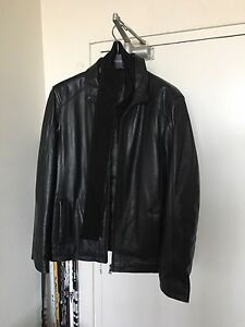 Brand new men's leather jacket