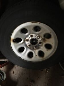 Tires and rims  245/70-17