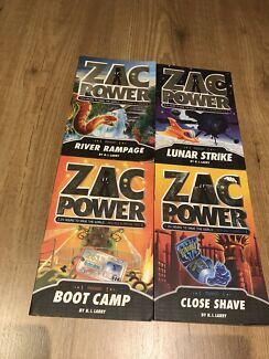 Zac Power mission series