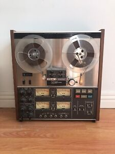 Teac 4 track reel to reel tape recorder 1/8""