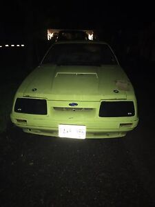 1982 ford mustang gt hood scoop for sale