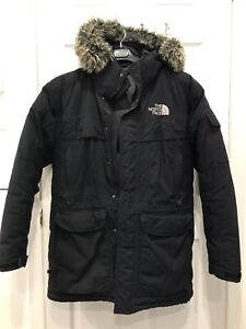 The north face parka size M