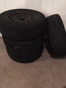 Truck tire & rims