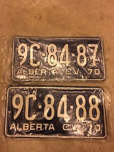 BRAND NEW ANTIQUE LICENSE PLATES