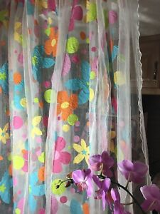 FABRIC OR CUSTOM MADE Curtain for craft, baby, art room