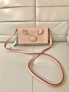 Brand New Authentic Kate Spade Pig Leather Crossbody Bag