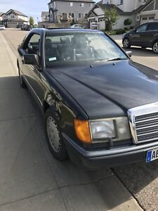 1991 Mercedes Benz 300CE Coupe classic $5000