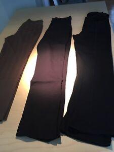3 pantalons de maternité small