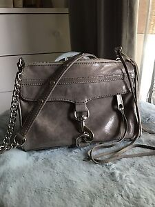 Rebecca Minkoff Mini MAC crossbody bag in grey Strathfield Strathfield Area Preview