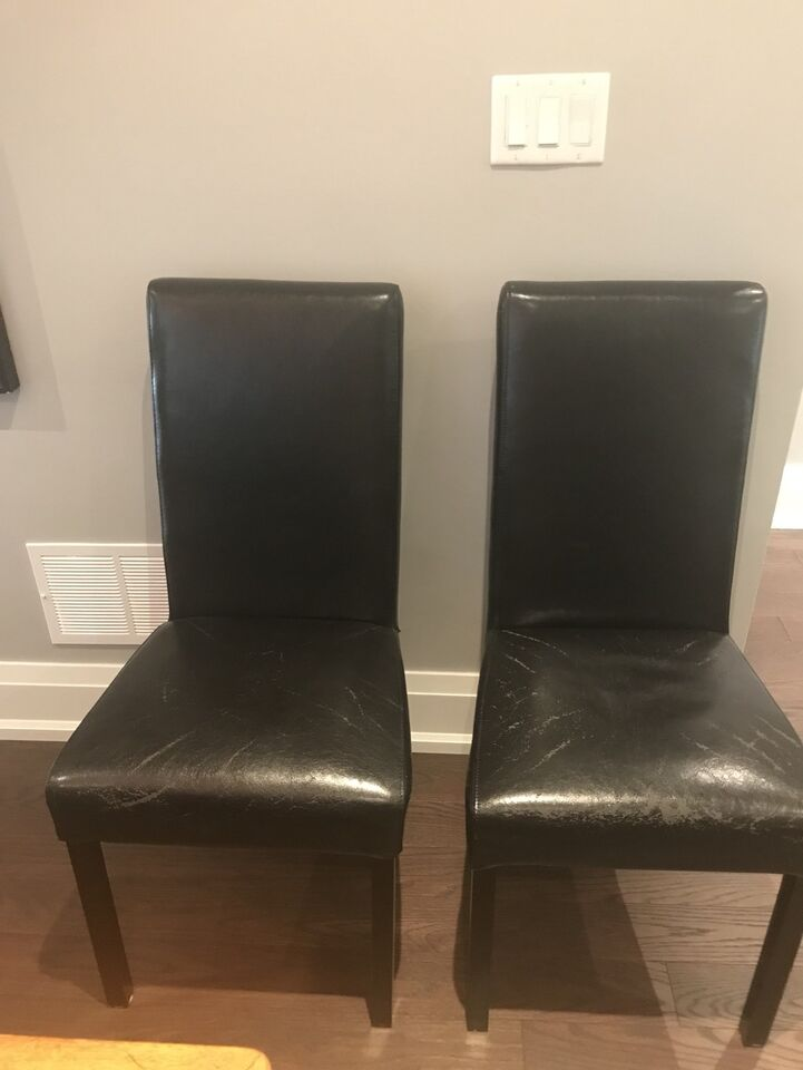 black leather parsons chairs chairs recliners city of toronto