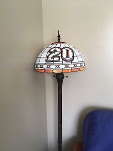 3 real glass NASCAR lamps