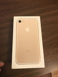 Gold iPhone 7