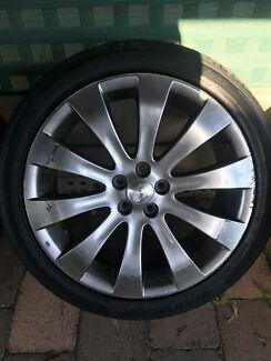 """Subaru liberty 18"""" wheels"""